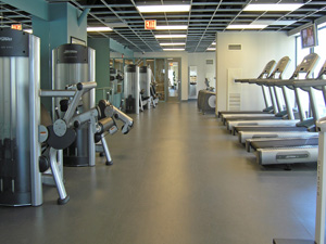 Room of exercise equipment
