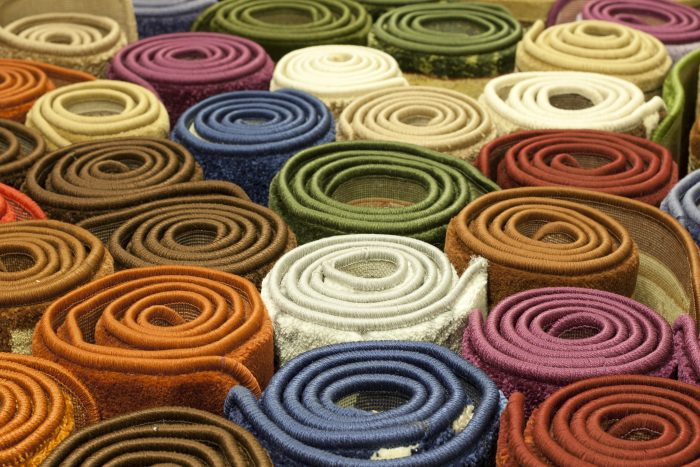Never put carpet in your fitness center.